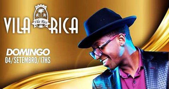 Domingo tem show do cantor Mumuzinho no palco do Boteco Vila Rica Eventos BaresSP 570x300 imagem