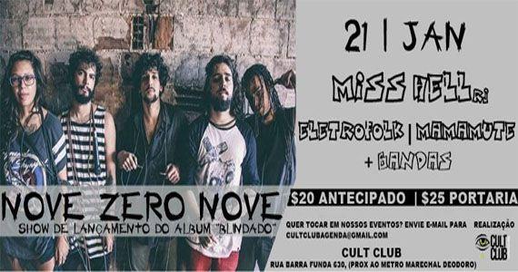 Bandas Nove Zero Nove, Miss Hell, Eletrofolk, Mamute e Geração Zero agitam o Cult Club Eventos BaresSP 570x300 imagem