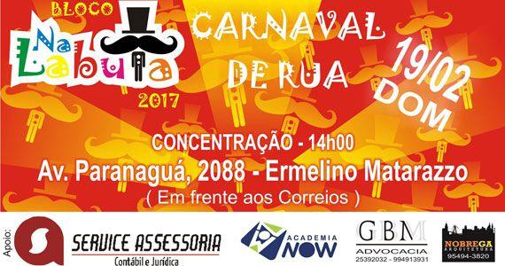 Bloco Na Labuta estreia no Carnaval de SP nas ruas de Ermelino Matarazzo Eventos BaresSP 570x300 imagem