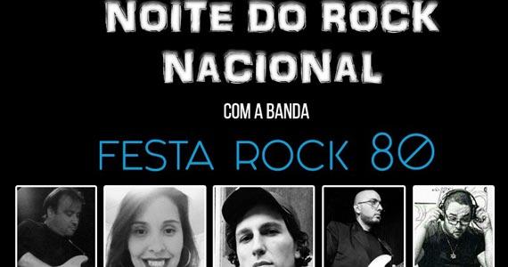 Noite do Rock Nacional com a banda Festa Rock 80 na Hamburgueria Cia 66 Eventos BaresSP 570x300 imagem