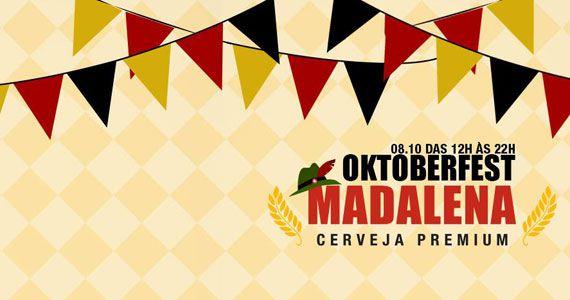 Cervejaria Madalena realiza Oktoberfest com torneiras de chopp no sábado Eventos BaresSP 570x300 imagem