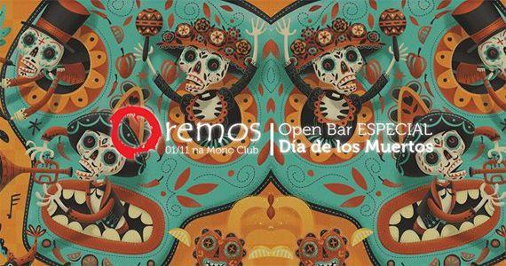 Edição Especial dia de Los Muertos Neon com Oremos Open Bar na Mono Club Eventos BaresSP 570x300 imagem