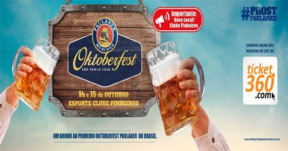 1º Oktoberfest Paulaner Brasil com bandas e comidas típicas no Clube Pinheiros Eventos BaresSP 570x300 imagem