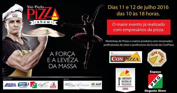São Paulo Pizza Show reúne workshops, professores e profissionais do setor no Centro de Convenções Rebouças Eventos BaresSP 570x300 imagem