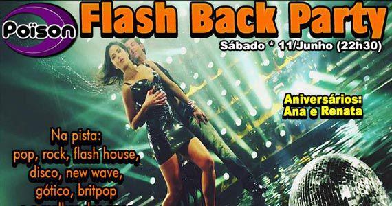 Flash Back Party com DJ Demoh comandando as pick-ups do Poison Bar e Balada Eventos BaresSP 570x300 imagem