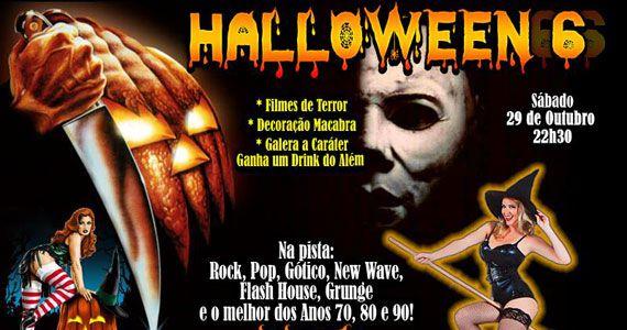 Festa de Halloween com decoração especial e pop rock no Poison Bar e Balada Eventos BaresSP 570x300 imagem