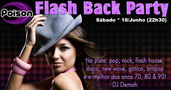 Poison Bar e Balada recebe os agitos da Flash Back Party com DJ Demoh Eventos BaresSP 570x300 imagem