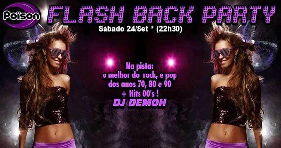 Poison Bar e Balada recebe os agitos da festa Flash Back Party Eventos BaresSP 570x300 imagem
