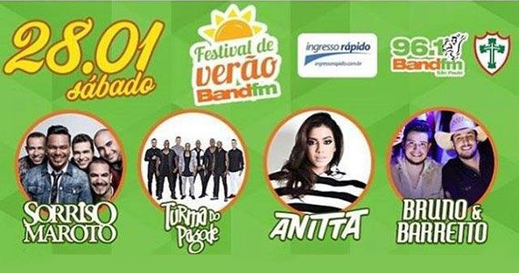 Sorriso Maroto, Turma do Pagode, Anitta e Bruno e Barreto no Festival de Verão da Portuguesa Eventos BaresSP 570x300 imagem
