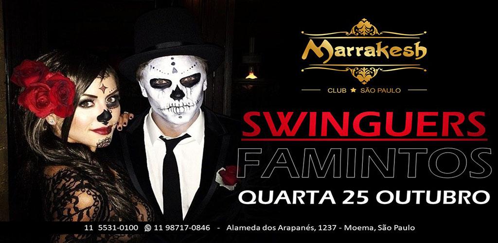 25/10- Noite dos Swinguers Famintos no Marrakesh Club