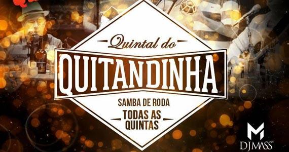 Quintal do Quitandinha com samba de roda todas as quintas no Quitandinha Bar Eventos BaresSP 570x300 imagem