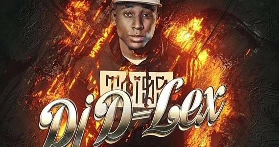 DJ D-Lex comanda as pick-ups com hip hop no Quitandinha Bar Eventos BaresSP 570x300 imagem