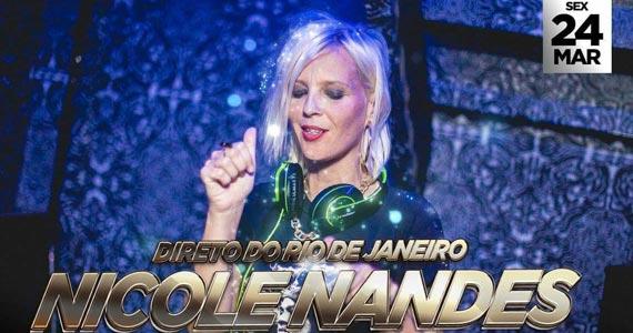 Nicole Nandes comanda as pick-ups desta sexta no Quitandinha Bar Eventos BaresSP 570x300 imagem