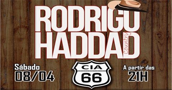 Sábado é dia de música country com o cantor Rodrigo Haddad animando a noite no CIA 66 Eventos BaresSP 570x300 imagem
