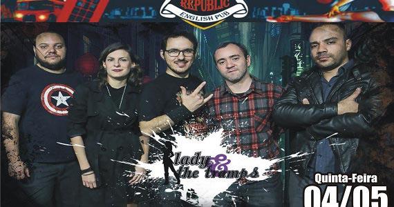 Banda Lady & The Tramps e DJ Cadu comandam a 89 Rock Party do Republic Pub Eventos BaresSP 570x300 imagem