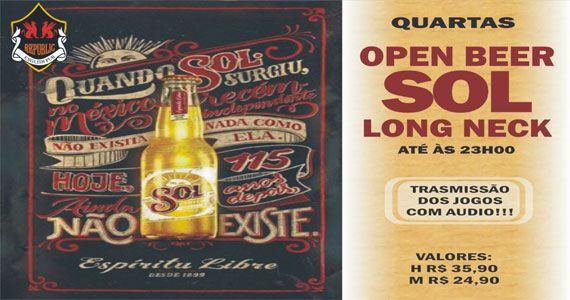 William Kim comanda a quarta com pop rock e Open Bar Sol no Republic Pub Eventos BaresSP 570x300 imagem