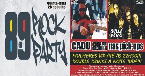 Banda Gullivera e DJ Cadu comandam a noite no Republic Pub Eventos BaresSP 570x300 imagem