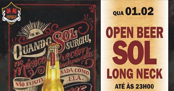 William Kim comanda o happy hour com open Sol no Republic Pub Eventos BaresSP 570x300 imagem