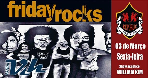 William Kim e banda Vih comandam a noite com pop rock no Republic Pub Eventos BaresSP 570x300 imagem