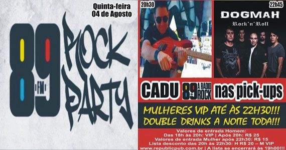 Banda Dropd comanda a noite com pop rock no Republic Pub Eventos BaresSP 570x300 imagem