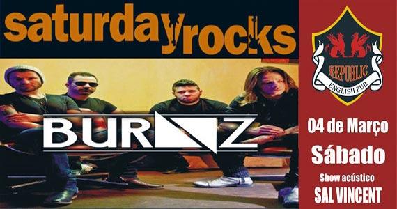 Sal Vincent e banda Burnz comandam a noite com muito rock no Republic Pub Eventos BaresSP 570x300 imagem