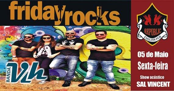 Sal Vincent e banda Vih comandam a noite com muito rock no Republic Pub Eventos BaresSP 570x300 imagem