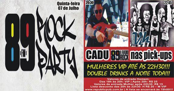DJ Cadu e banda Vih comandam a noite no Republic Pub Eventos BaresSP 570x300 imagem