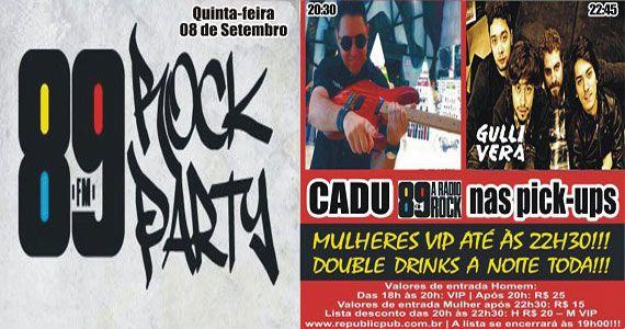 Banda Gullivera e DJ Cadu comandam a noite com muito rock no palco do Republic Pub Eventos BaresSP 570x300 imagem