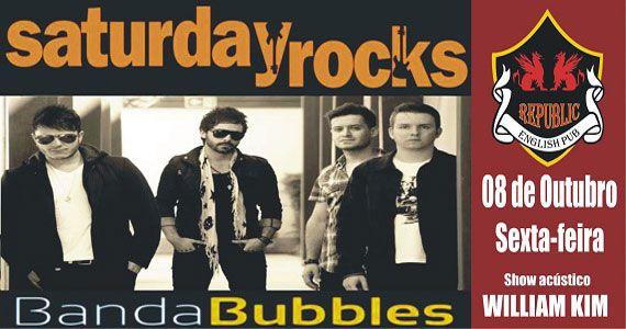 Banda Bubbles e William Kim com clássicos do rock no Republic Pub Eventos BaresSP 570x300 imagem