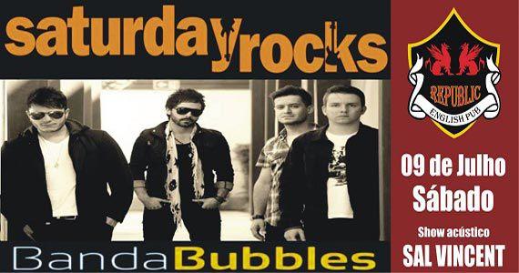 Sal Vincent e banda Bubbles animam a noite no Republic Pub Eventos BaresSP 570x300 imagem