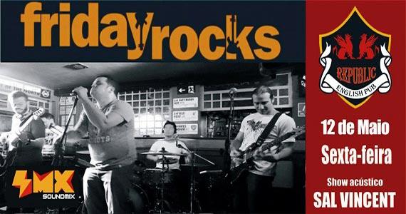 Sal Vincent e banda Soundmix comandam a noite no Republic Pub Eventos BaresSP 570x300 imagem