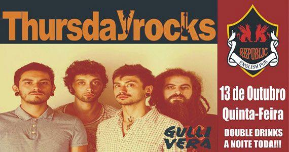 Banda Gullivera com o melhor do pop rock no Republic Pub Eventos BaresSP 570x300 imagem