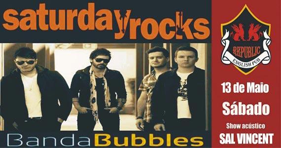 Sal Vincent e banda Bubbles agitam a noite com pop rock no Republic Pub Eventos BaresSP 570x300 imagem