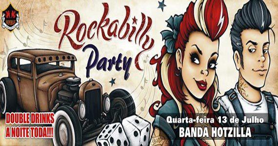 Rockabilly Party recebe banda Hotzilla para animar o Republic Pub na quarta Eventos BaresSP 570x300 imagem