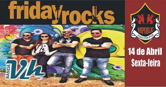 Banda Vih comanda a noite com clássicos do rock no palco do Republic Pub Eventos BaresSP 570x300 imagem