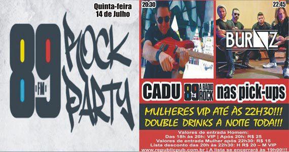 Banda Burnz e DJ Cadu agitam a noite com pop rock no Republic Pub Eventos BaresSP 570x300 imagem