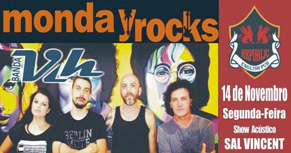 Banda Vih e Sal Vincent comandam a noite com clássicos do rock no Republic Pub Eventos BaresSP 570x300 imagem
