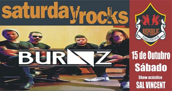 Banda Burnz e Sal Vincent comandam a noite no Republic Pub com muito rock Eventos BaresSP 570x300 imagem