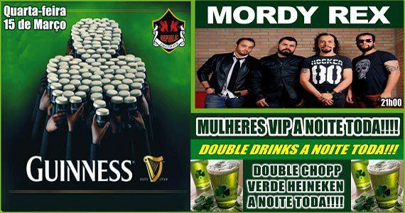 Banda Mordy Rex se apresenta no Republic Pub com muito rock Eventos BaresSP 570x300 imagem