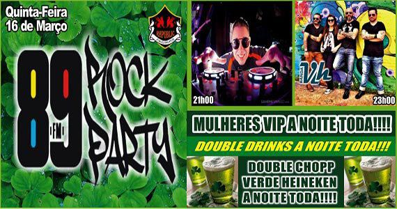 Banda Vih e DJ Cadu comandam a noite com muito rock no Republic Pub Eventos BaresSP 570x300 imagem