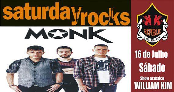 Sal Vincent e banda Monk comandam o sábado no Republic Pub Eventos BaresSP 570x300 imagem