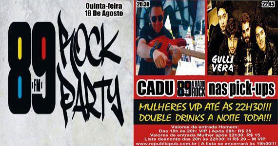 Banda Gullivera e DJ Cadu agitam a noite com pop rock no palco do Republic Pub Eventos BaresSP 570x300 imagem