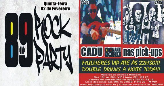 Banda Vih e DJ Cadu comandam a noite de quinta-feira no Republic Pub Eventos BaresSP 570x300 imagem