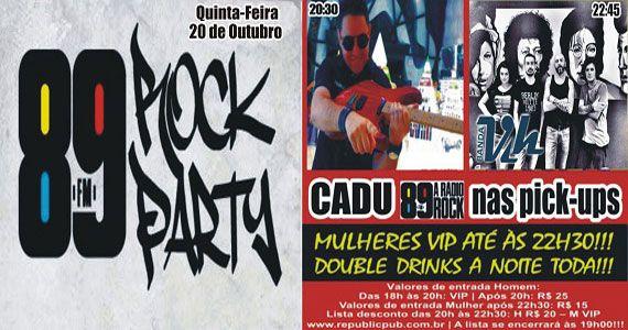Banda Vih e DJ Cadu comandam a quinta com pop rock no Republic Pub Eventos BaresSP 570x300 imagem