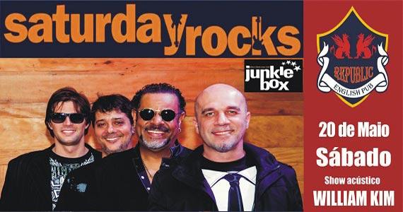 Banda Junkie Box e William Kim agintam o sábado com pop rock no Republic Pub Eventos BaresSP 570x300 imagem