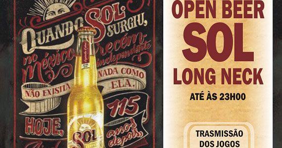 Transmissão do futebol com open bar de Sol no Republic Pub Eventos BaresSP 570x300 imagem
