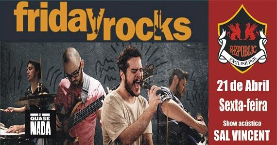 Banda Os Quase Nada com clássicos do rock no Republic Pub Eventos BaresSP 570x300 imagem