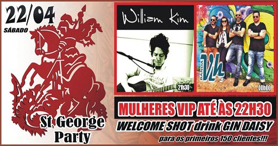 Republic Pub celebra pela segunda vez o St. George's Day com a banda Vih e o som do cantor William Kim Eventos BaresSP 570x300 imagem