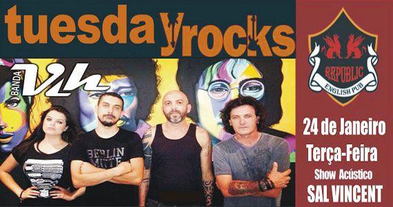 Sal Vincent e banda Vih comandam a noite com pop rock no Republic Pub Eventos BaresSP 570x300 imagem