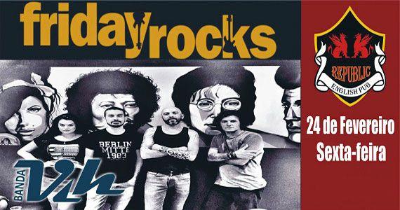 Banda Vih se apresenta no palco do Republic Pub com muito rock Eventos BaresSP 570x300 imagem